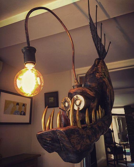 funny light design lamp
