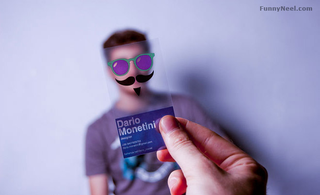 funny business card salon service