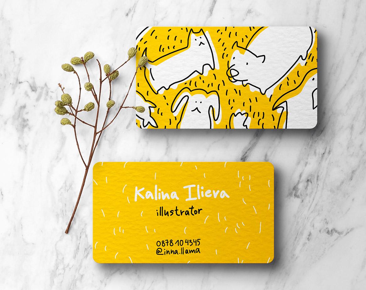 funny business card designer