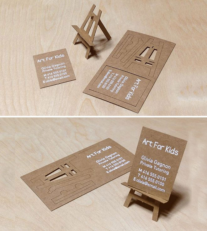 funny business card furniture