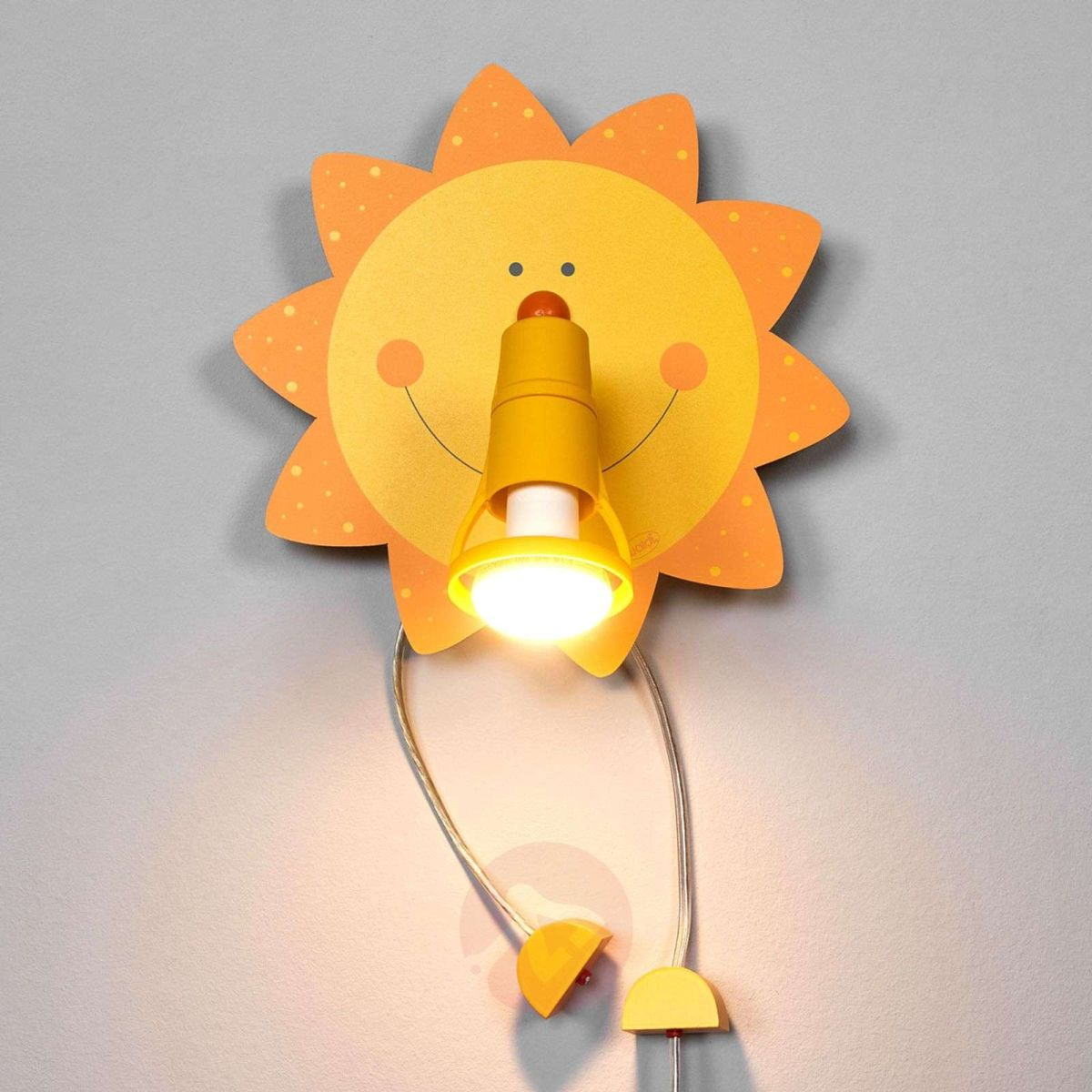 funny light wall lamp kids