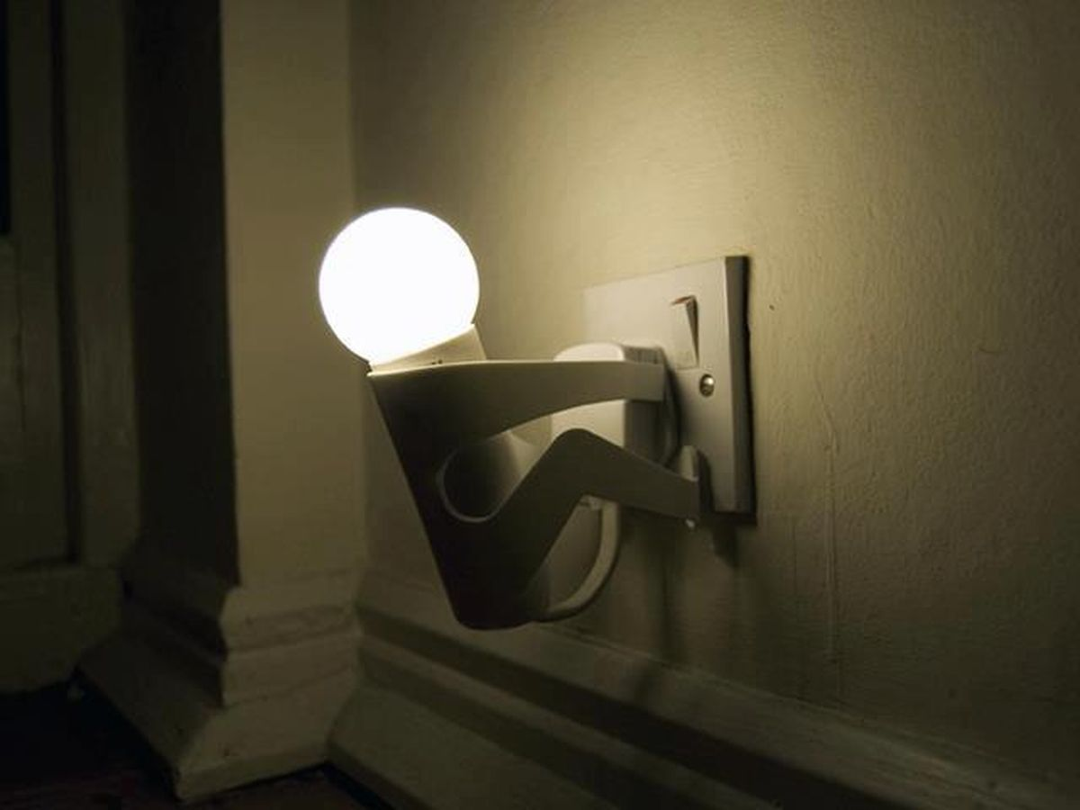 funny light light holder