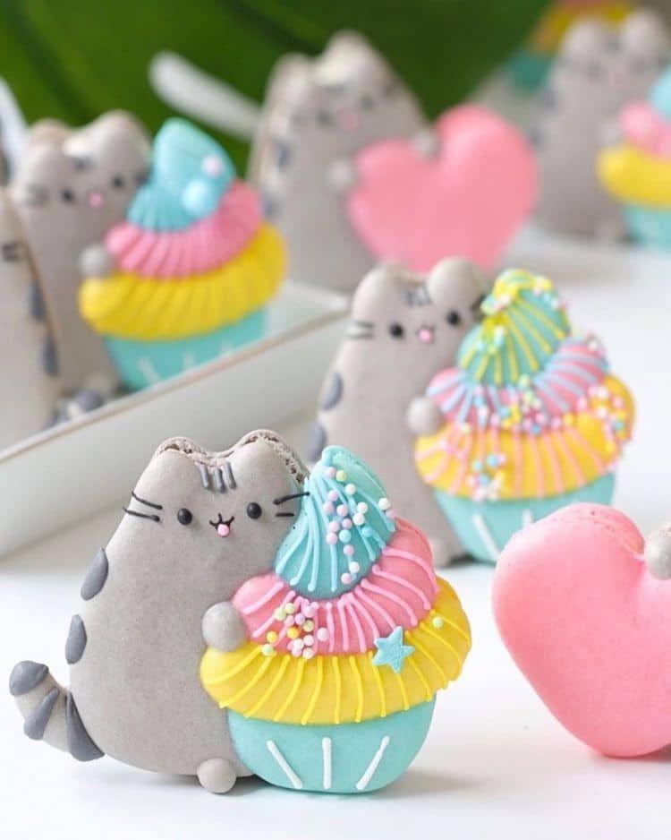 beautiful macron cookie idea starwar katrina moon