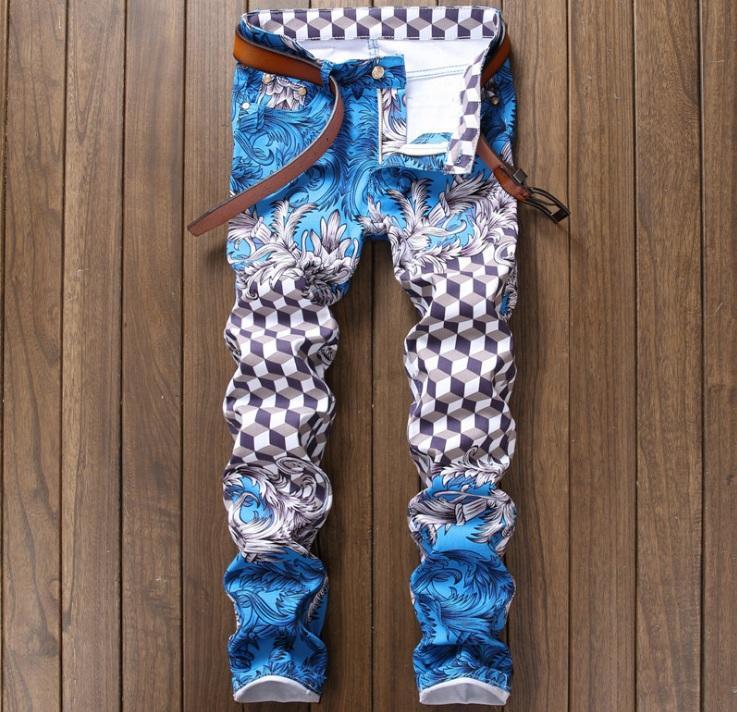 funny pant printed design