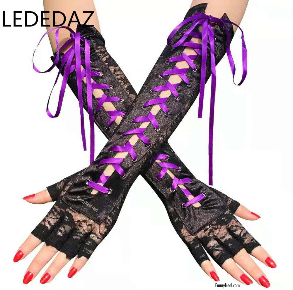 unusual funny gloves women