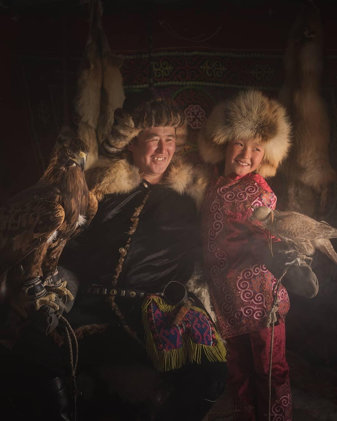 beautiful mongolian eagle image daniel kordan