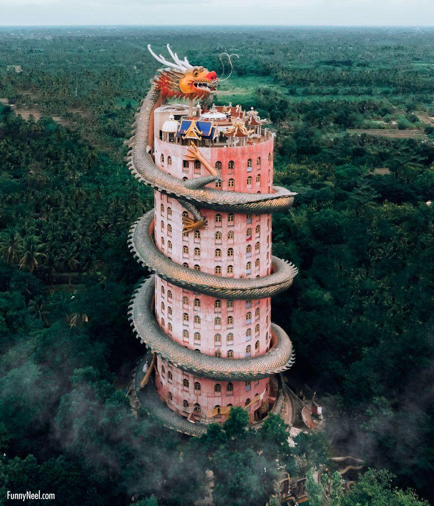 stunning dragon temple image thailand ell costi