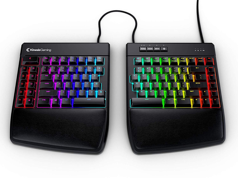 creative gadget ergonomic rgb keyboard