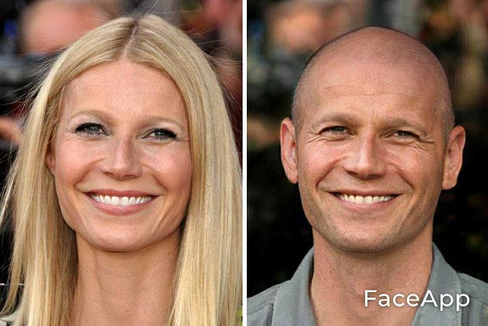 funny gender swap celebrity gwyneth paltrow