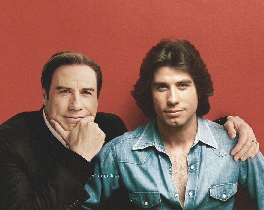 celebrity photoshopped image john travolta gelinck