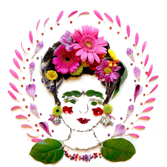 beautiful flower art idea lady collins