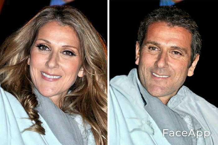 funny gender swap celebrity celine dion