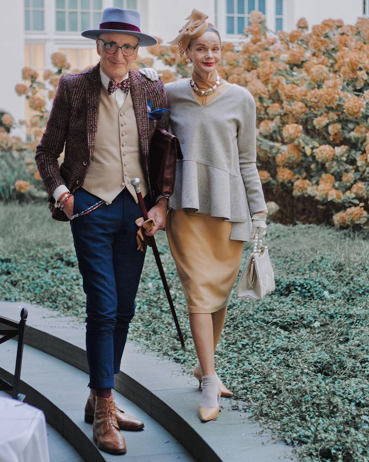 stylish old couple fashion photography gunther krabbenhoft britt kanja