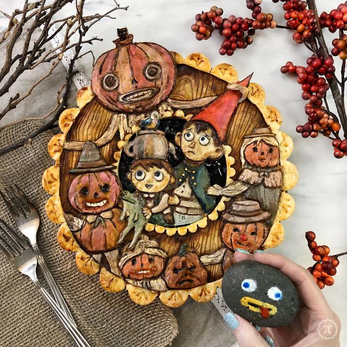 funny halloween pie jessica clark