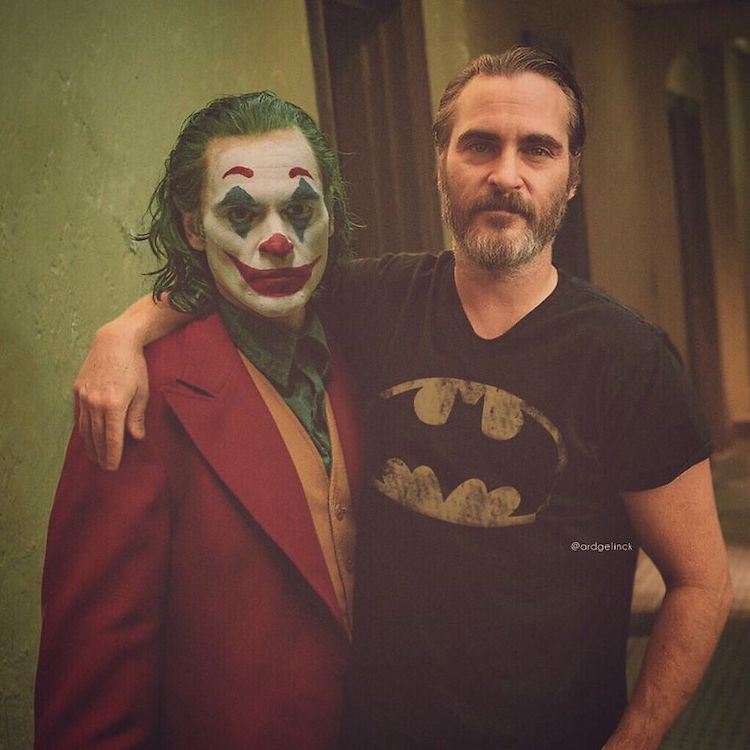 photoshop holywood actors and character joaquin phoenix joker gelinck