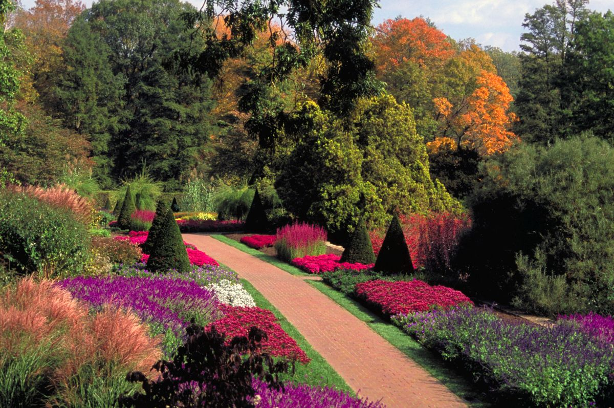 beautiful longwood garden image pennsylvania