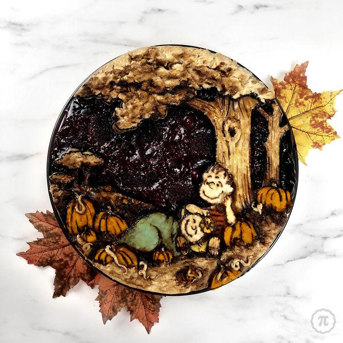 creative halloween pie jessica clark