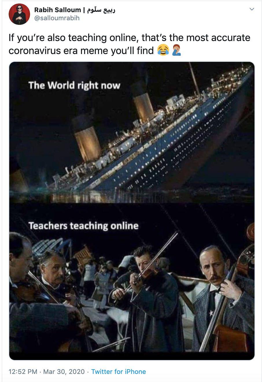 funny online class corona virus memes
