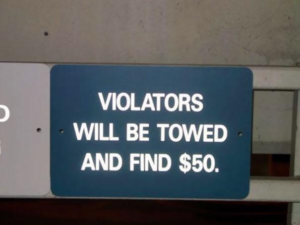 funny spelling mistake warning signboard