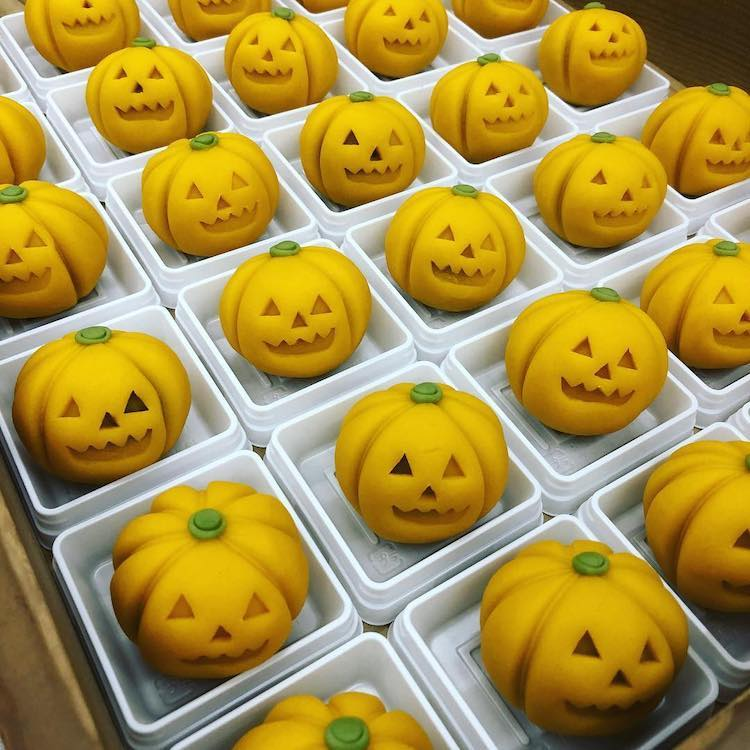 japanese wagasi sweet pumpkin chef kurokazu