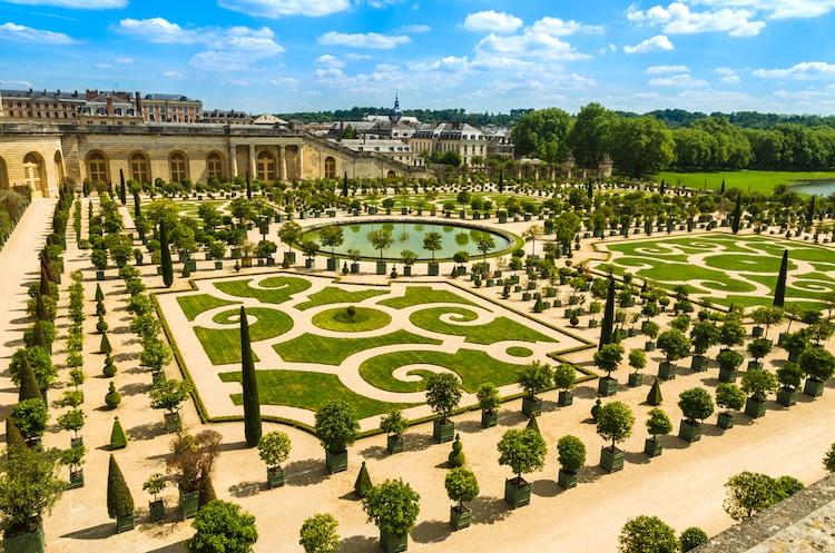 beautiful versailles garden image france photofires