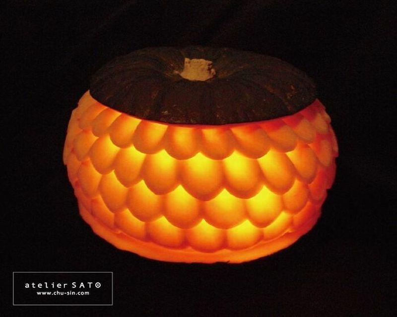 beautiful vegetable carving pumpkin tomoko sato