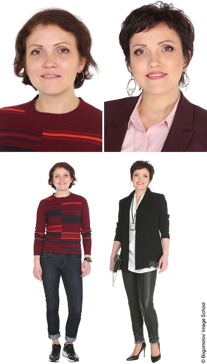 amazing makeup transformation middle age woman maria bogomolov konstantin