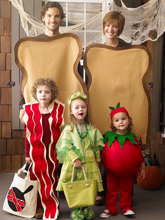 funny mother sandwich family halloween costume