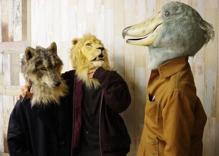 funny animal mask kamonohashi zokei