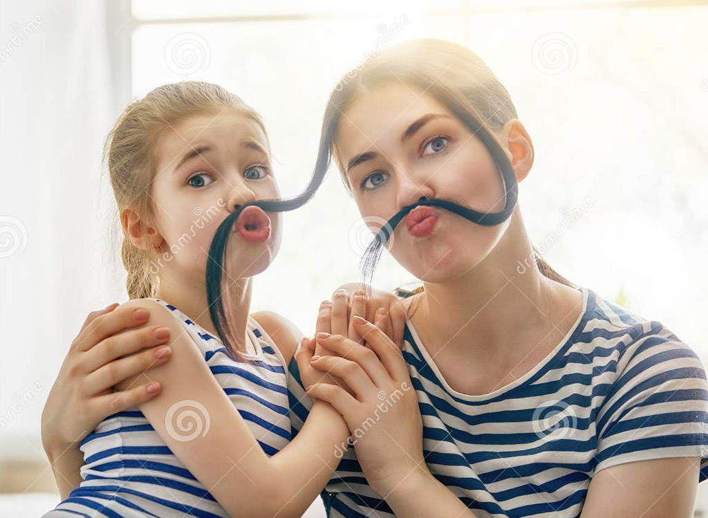 funny mother mustache all