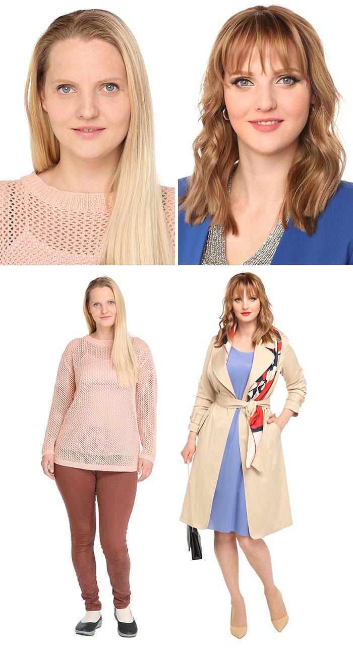 amazing makeup transformation middle age women elina bogomolov konstantin