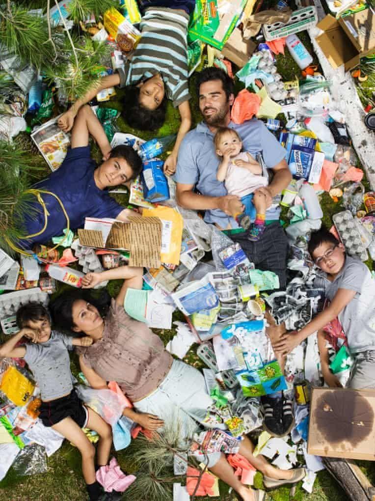 garbage waste campaign idea gregg segal