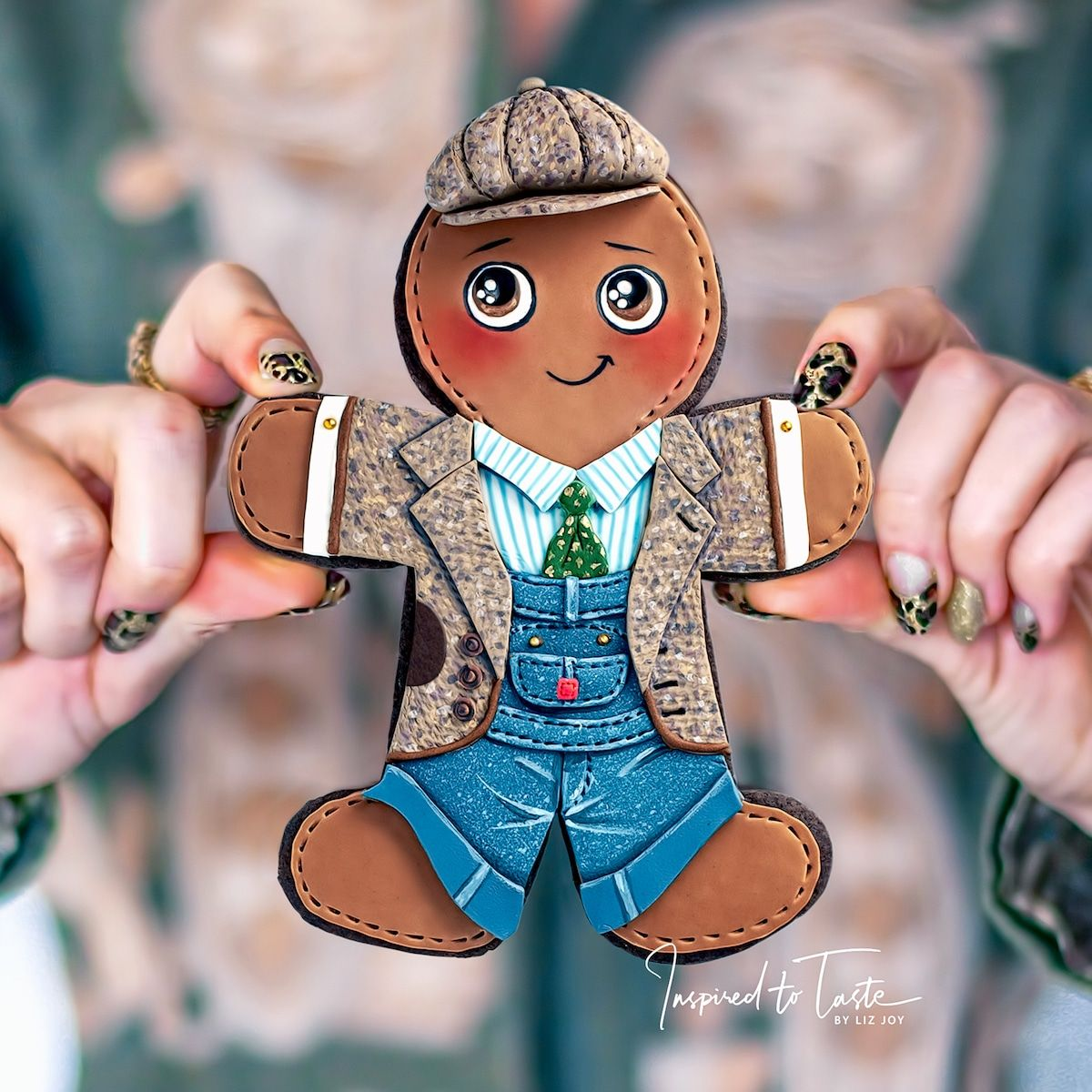 beautiful cookie art design liz joy