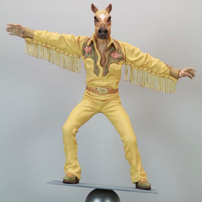 funny hybrid sculpture alessandro galo