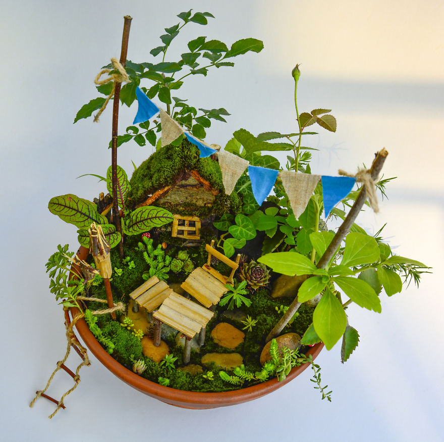 beautiful miniature garden reka elekes