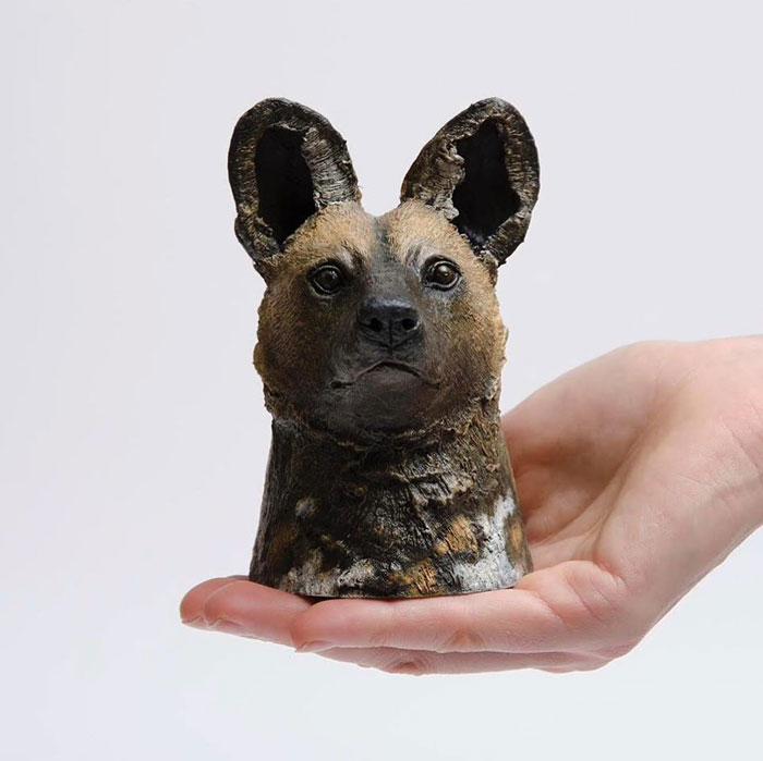 funny animal face mask dog liz sexton