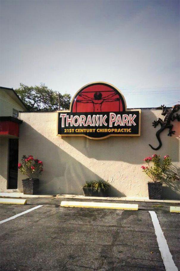 hillarious british shop names thorassic park