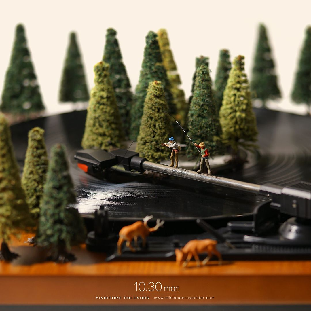 funny miniature photography tatsuya tanaka