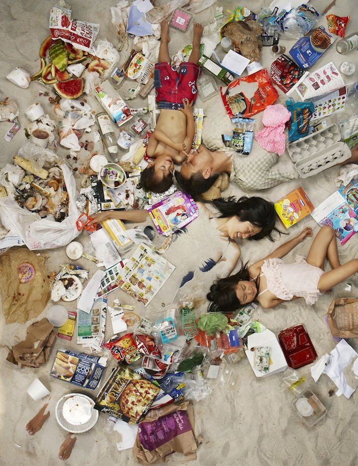 plastic campaign waste garbage gregg segal