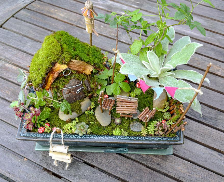 creative fairytale garden idea reka elekes