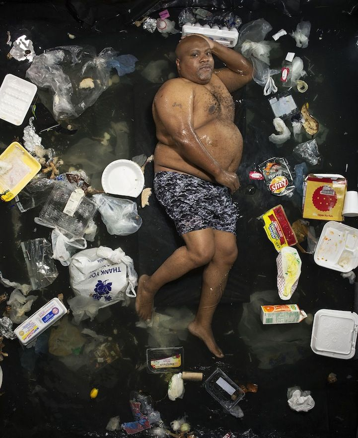 social awareness campaign garbage gregg segal
