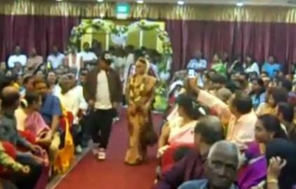 Tamil Wedding Girl Dance : Unique Entrance made by tamil bride