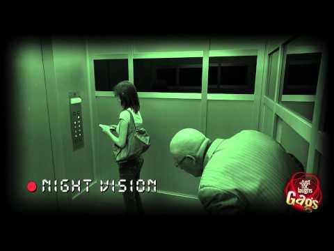 Businessman Appears In Elevator - Hidden Camera Prank