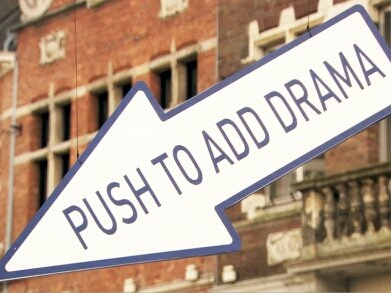 Push to add Drama - Bold creative campaign on the streets by TNT Belgium